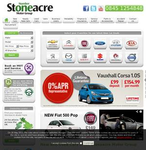 Stoneacre motor group limited car dealers in doncaster for Stone acre